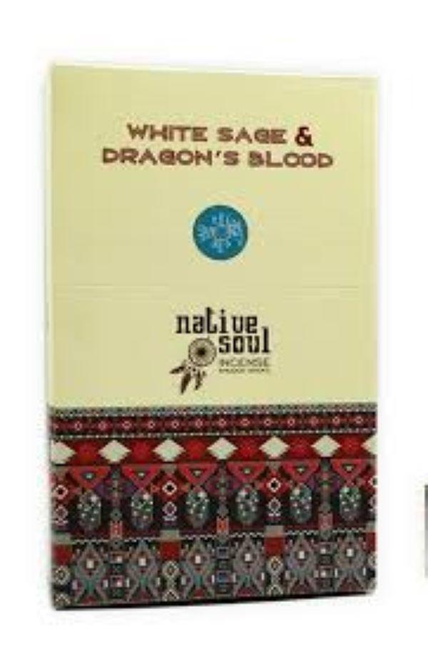 Green Tree - Native Soul ~ White Sage & Dragon's Blood Incense