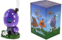 ACCESSORIES - Lisa Parker - fairy village Toadstool design Cone Burner - PURPLE