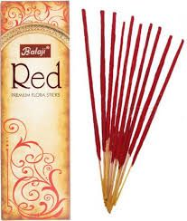 "Balaji  "" Red""  Incense Sticks"