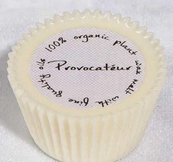 Cupcake shaped Org Wax Melt/Provocateur
