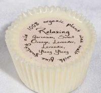 Cupcake shaped Org Wax Melt/Relaxing