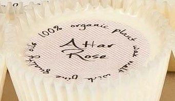 New Product - Cupcake shaped Org Wax Melt/Attar Rose