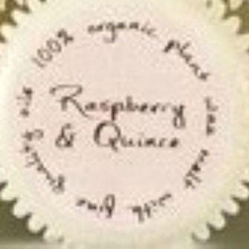 Cupcake shaped Org Wax Melt/Raspberry & Quince