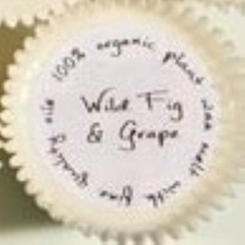 New Product - Cupcake shaped Org Wax Melt/Wild Fig & Grape