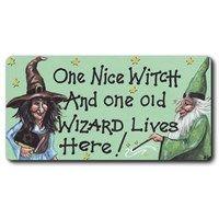 Fridge Magnets - WP – 02 - One nice witch . . .