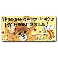 Fridge Magnets - 223 - Thinking Of You Makes My Heart . . .