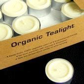 mixed scented organic t-lights - 3