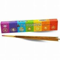 Green Tree - 7 Chakra Incense - Sticks