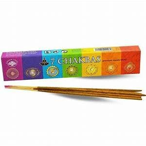 Green Tree - 7 Chakra Incense - Sticks