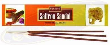 Nandita - Saffron Sandal Incense Sticks
