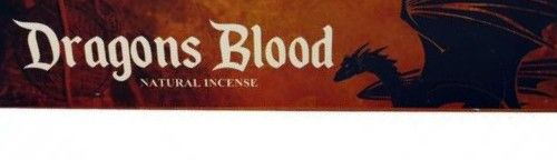 New Product - New Moon Incense - Dragons Blood