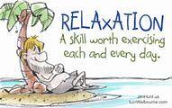 relaxing cartoon