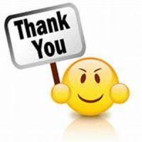 smiley thank you
