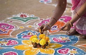 flowers and floor decoration