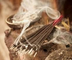 smudging incense
