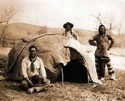 Old picture of native indian