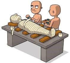 used in mummy dressing