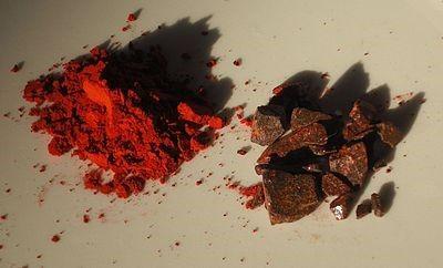 Dragons blood resin and incense powder