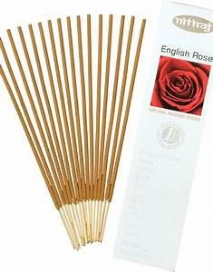 Bombay Incense  - Nitiraj Platinum  English Rose Incense