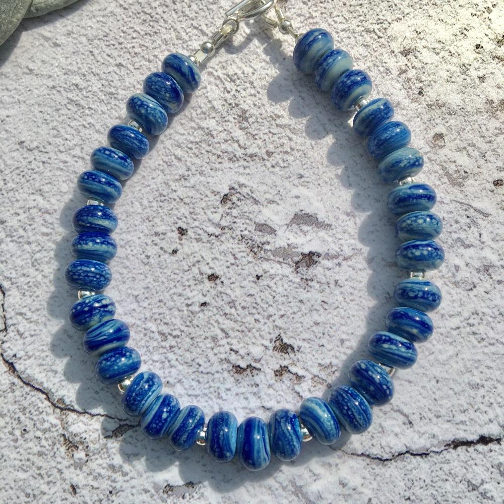 Morvoren Bracelet - Dark Blue