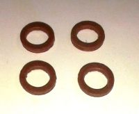 1/4 INCH FIBRE WASHERS, MAMOD / WILESCO STEAM ENGINE SAFETY VALVE OR WHISTLE