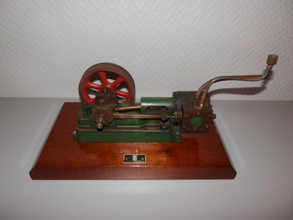 WELL MACHINED STUART TURNER MODELS No.8 LIVE STEAM STATIONARY ENGINE PROJEC
