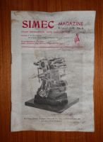 STUART MODELS SIMEC LIVE STEAM ENGINE, MODEL ENGINEER MAGAZINE 1978 No.6