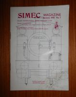 STUART MODELS SIMEC LIVE STEAM ENGINE, MODEL ENGINEER MAGAZINE 1978 No.7
