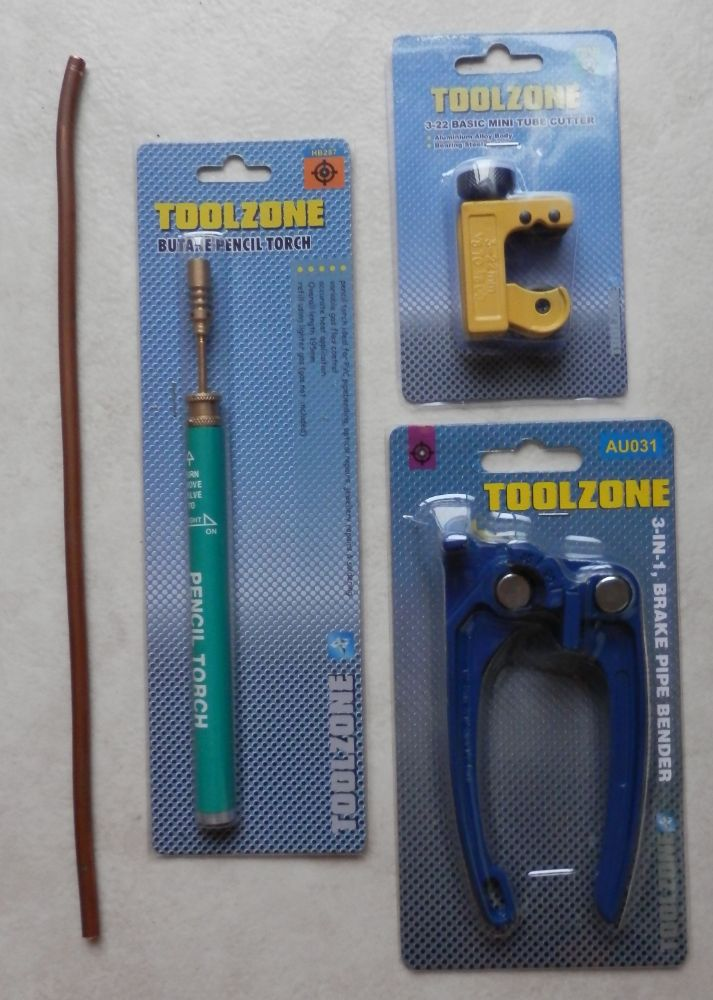 COPPER TUBE WITH TOOLS SETS