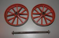 GENUINE 1970s MAMOD TE1a MODEL LIVE STEAM ENGINE, BACK WHEELS