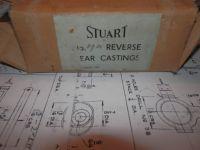 STUART TURNER MODELS No.7a LIVE STEAM ENGINE REVERSE GEAR CASTINGS & DRAWINGS