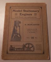 RARE 1913 EDITION Model Stationary Engines Design and Construction, Muncaster