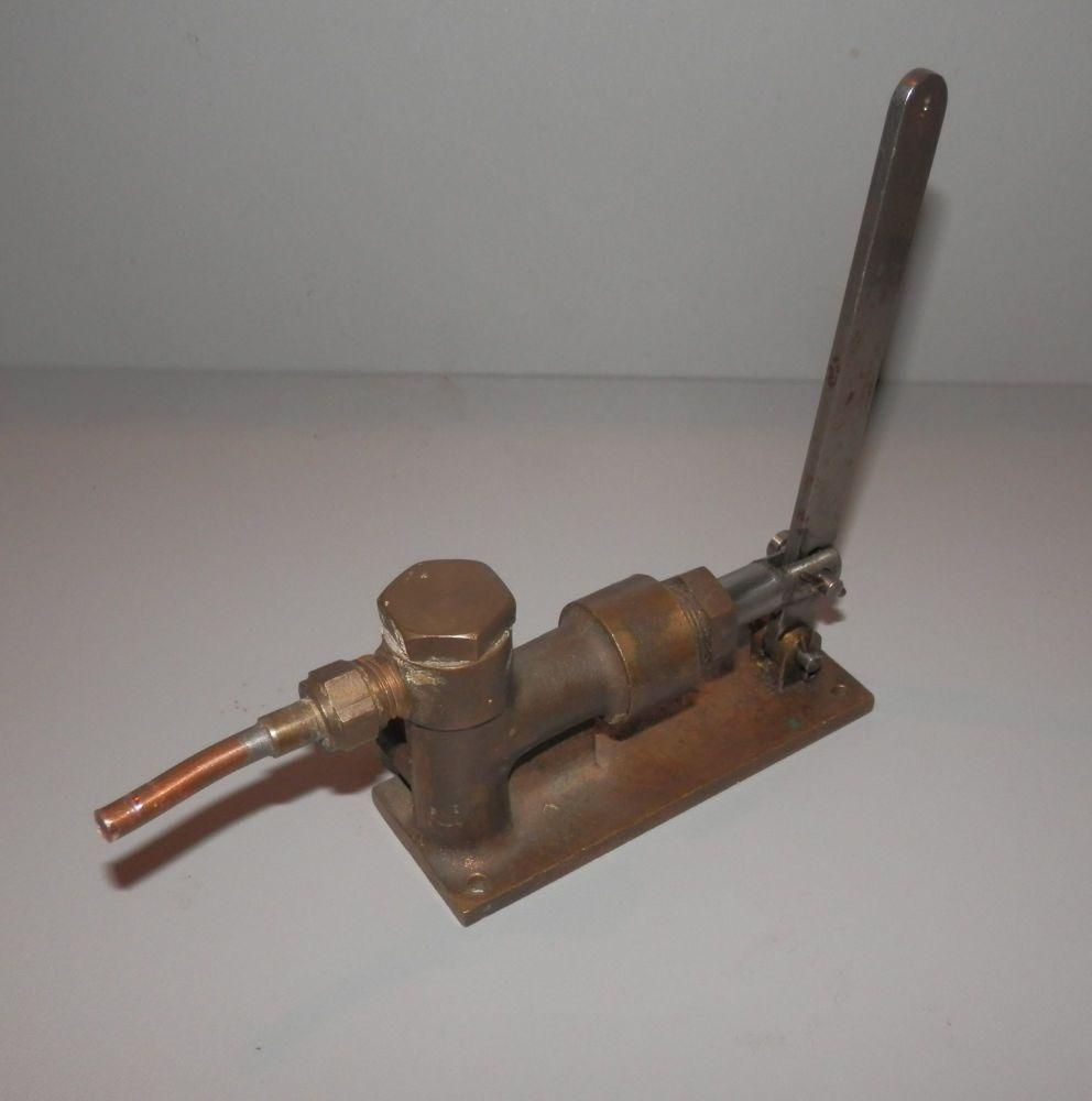 USED STUART TURNER LIVE STEAM ENGINE LARGE BOILER FEED PUMP