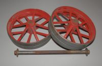 GENUINE 1960s MAMOD TE1a MODEL LIVE STEAM ENGINE, BACK WHEELS