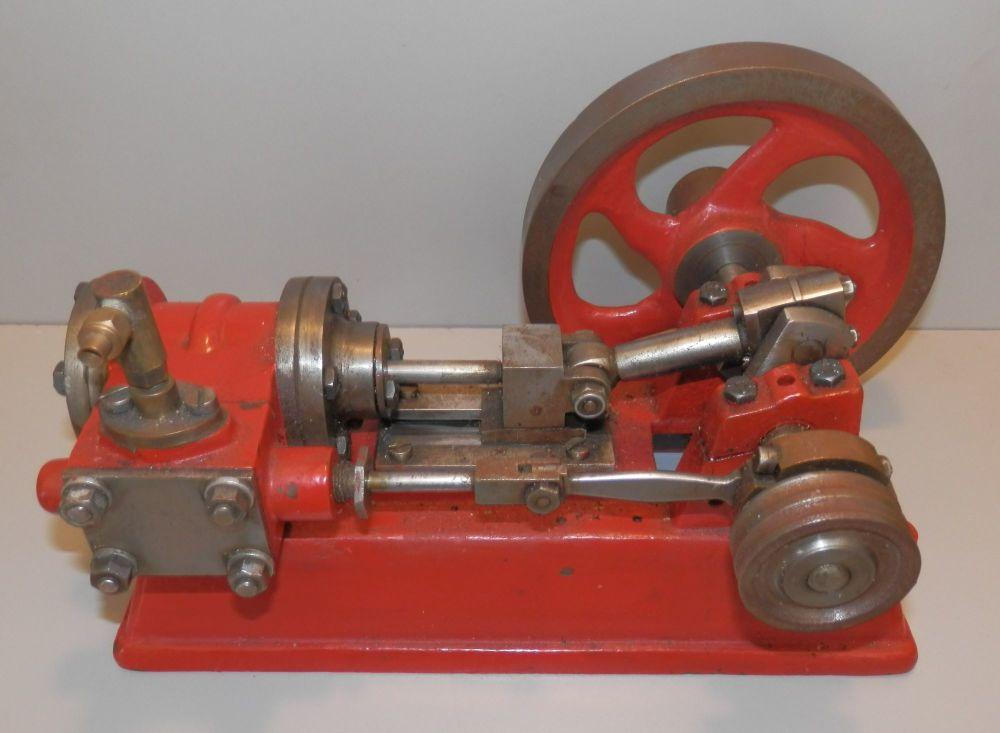 LARGE MODEL ENGINEER MADE LIVE STEAM STATIONARY ENGINE, STUART #9 SIZE (ish