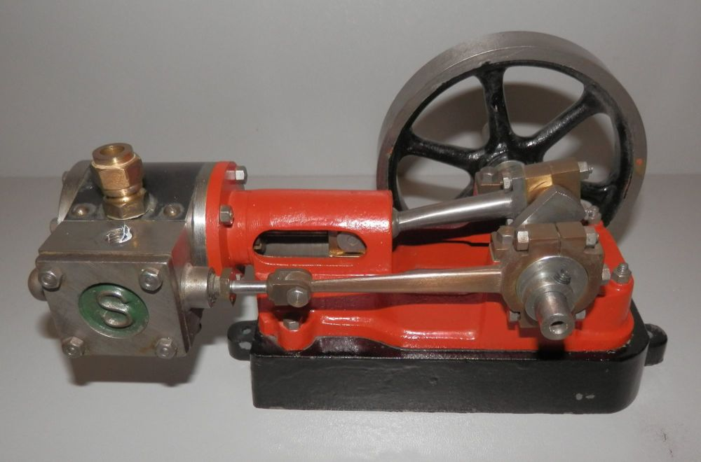 NICELY MACHINED STUART TURNER 10h LIVE STEAM STATIONARY ENGINE