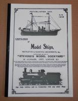REMASTERED 1919 STEVENS MODEL DOCKYARD CATALOGUE.. BOATS, SHIPS & FITTINGS