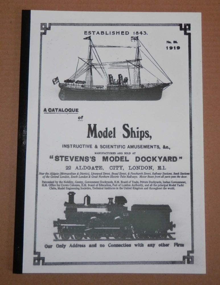 REMASTERED 1919 STEVENS MODEL DOCKYARD CATALOGUE.. BOATS, SHIPS & FITTINGS
