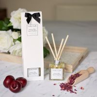 Damson Plum, Rose & Patchouli Luxury Reed Diffuser