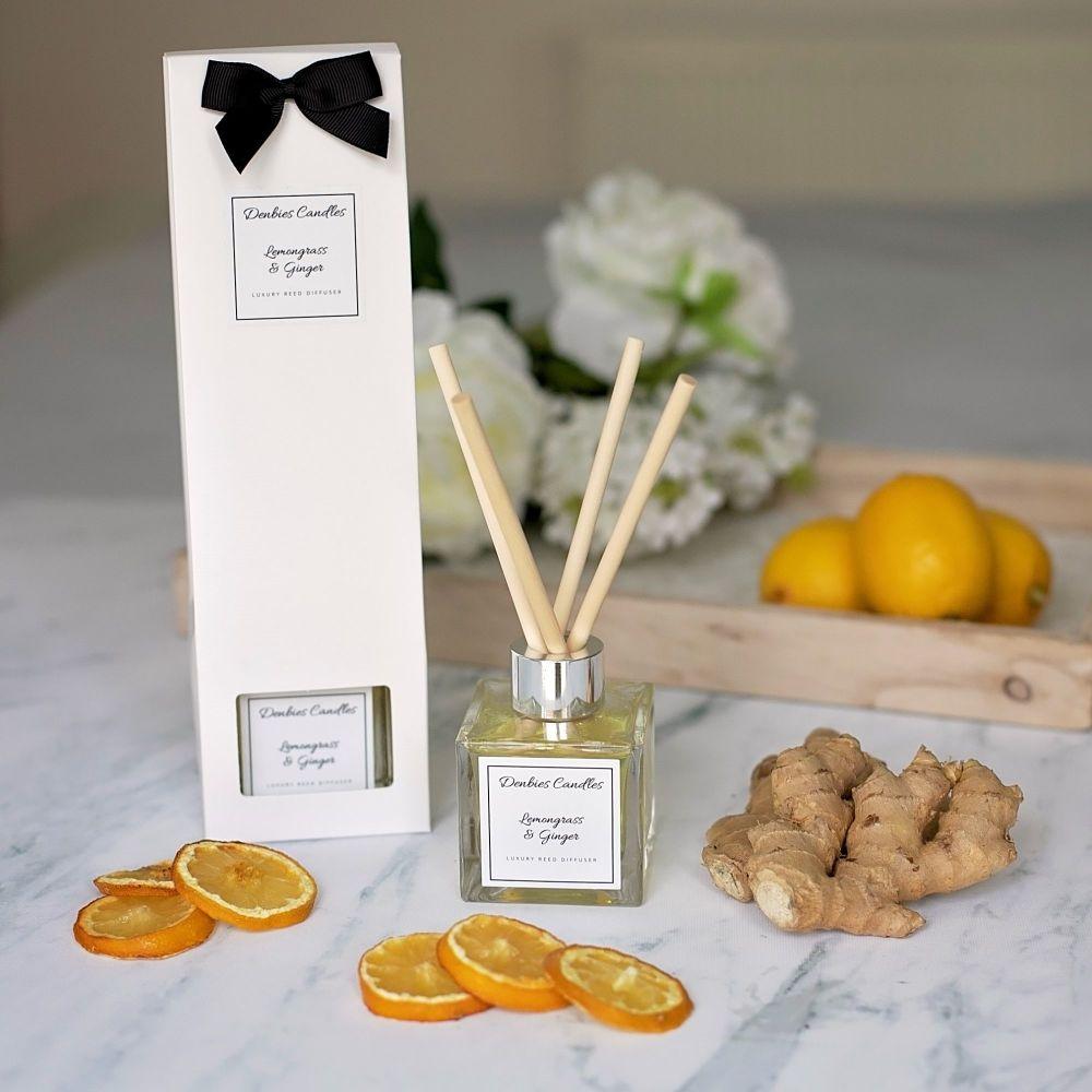 Lemongrass & Ginger Luxury Reed Diffuser