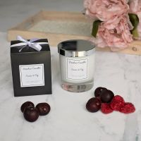 Cassis & Fig Luxury Glass Candle