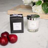 Plum & Mulberry Luxury Glass Candle