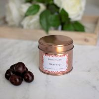 Black Cherry Candle Tin