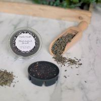 Black Amber & Lavender Segment Pot