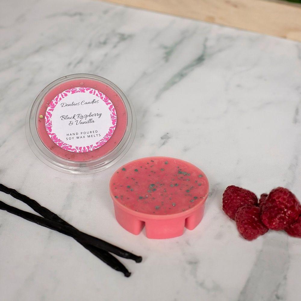 Black Raspberry & Vanilla Segment Pot