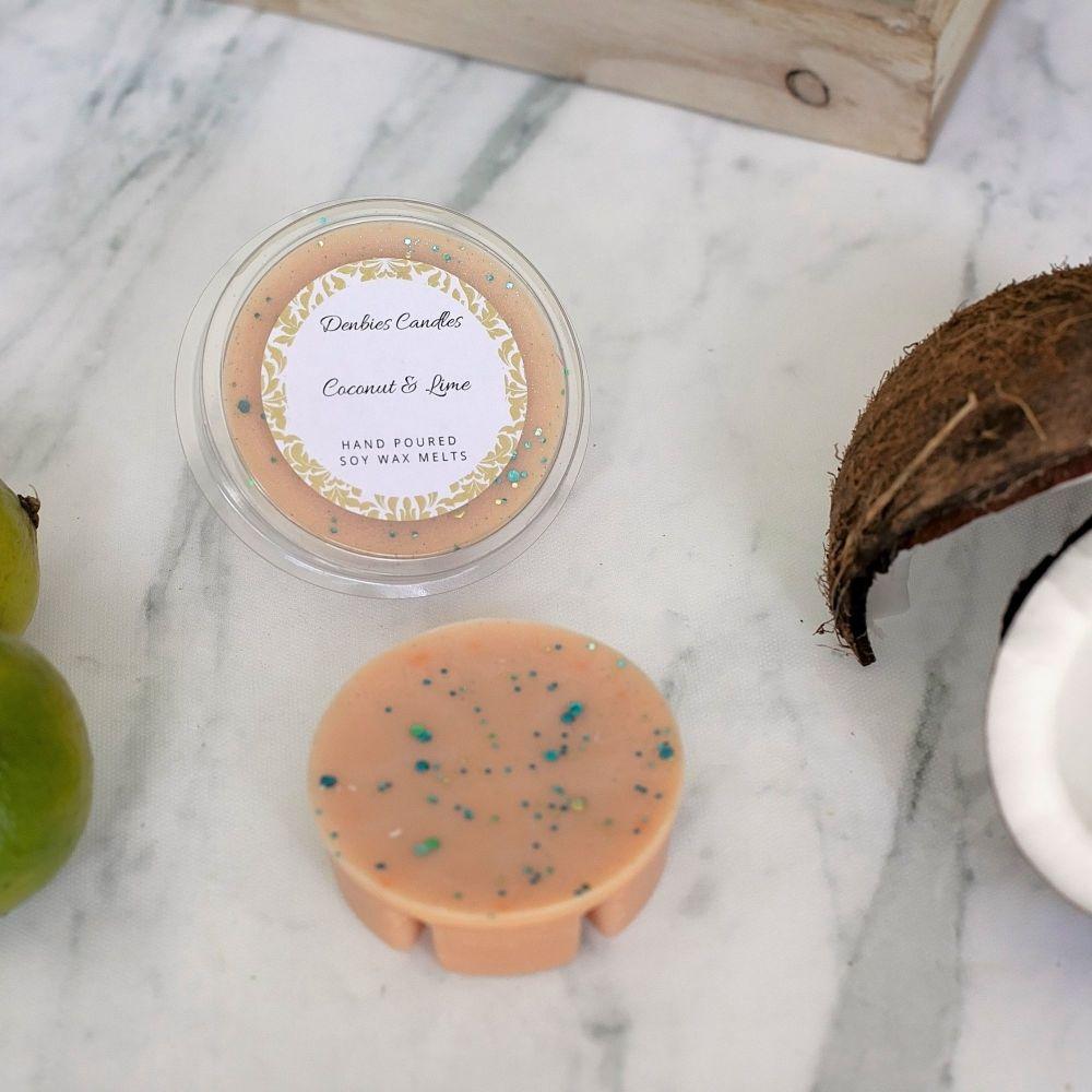 Coconut & Lime Segment Pot