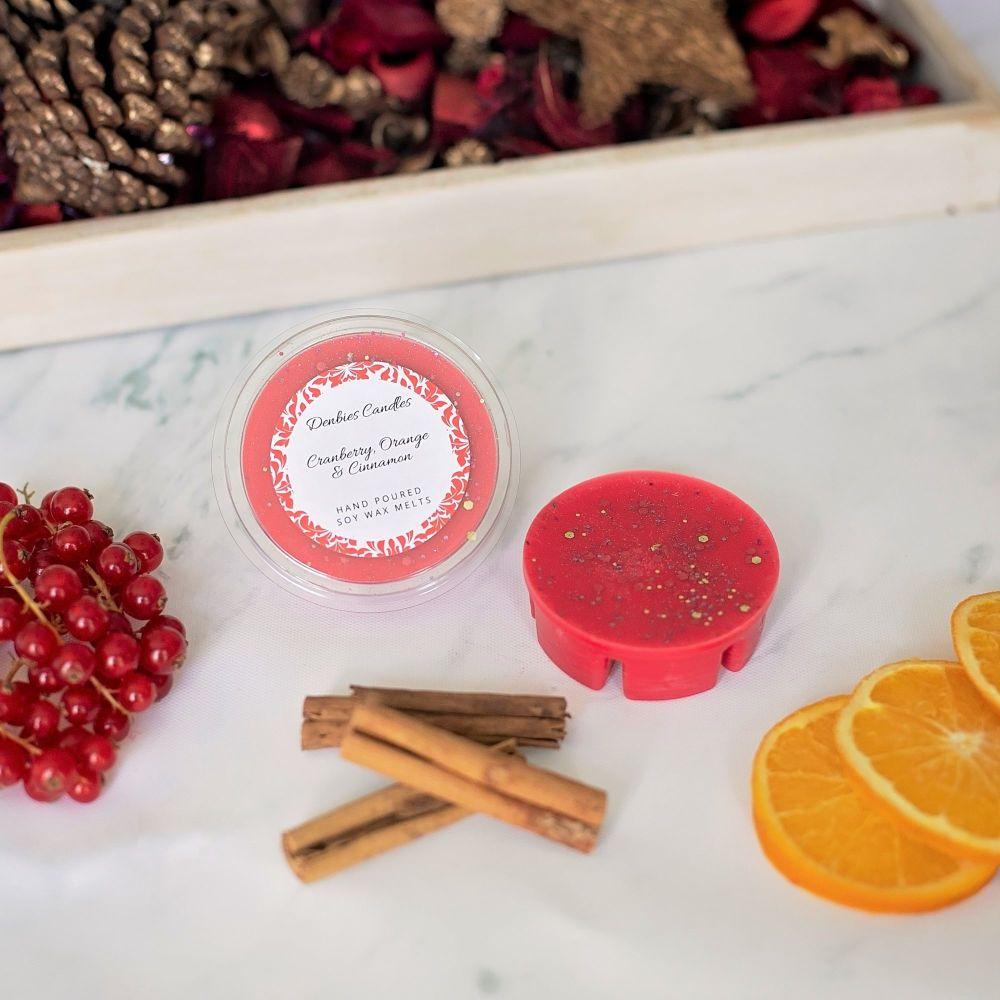 Cranberry, Orange & Cinnamon Segment Pot