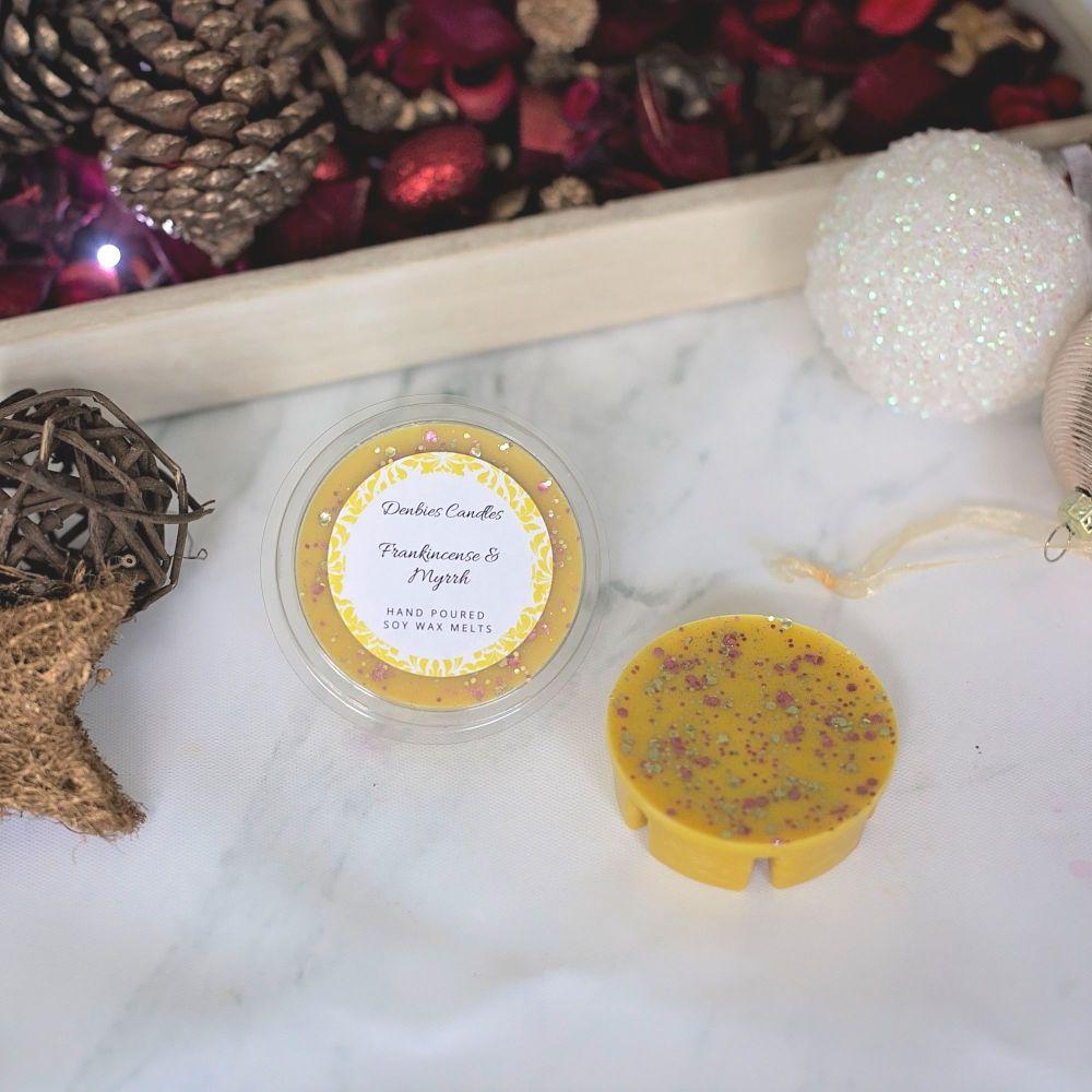 Frankincense & Myrrh Segment Pot