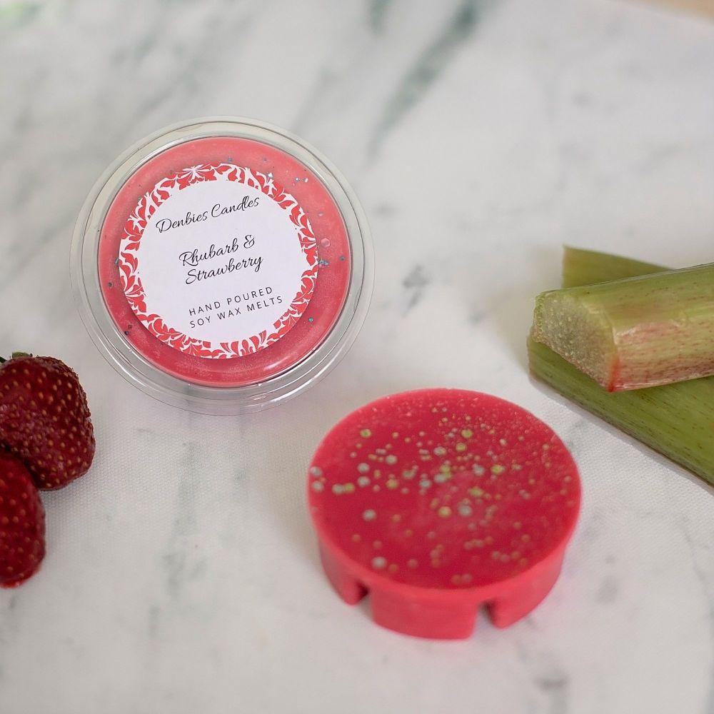Rhubarb & Strawberry Segment Pot