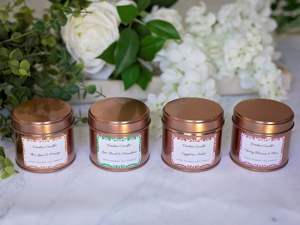 4 x Candle Tins